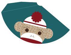 My Messy Manger: Free Sock Monkey Birthday Printables: Hat