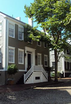 Recreating the charm reminiscent of a Nantucket exterior not only adds curb appeal, it turns an ordinary house into the type of home that make passerby's stop, take a second look, and wonder about the family who resides within