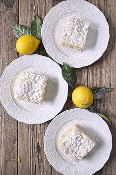 Κέικ λεμονιού με γιαούρτι & κραμπλ / Greek yogurt coffee cake