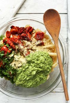 Pesto Penne Pasta Salad