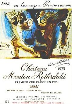[ chateau mouton rothschild + picasso ]