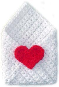 Crochet Spot » Blog Archive » Free Crochet Pattern: Envelope - Crochet Patterns, Tutorials and News