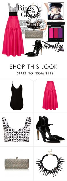 """""""Fashion Midi Skirt Style"""" by coppin-s ❤ liked on Polyvore featuring Tiffany & Co., Osklen, Isa Arfen, Alexander McQueen, Casadei and La Hormiga"""