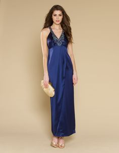 Rhea Maxi Dress | Blue | Monsoon