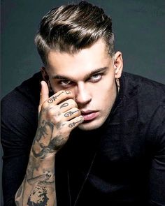 Stephen James | Tattoo Male Model