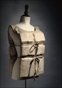 Life preserver worn by Titanic survivor Laura Mabel Francatelli on the night the ship sank (1912).