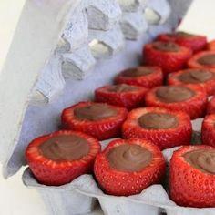 chocolate fill Strawberries