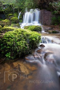 Beautiful Peak District water, Ladybower Waterfall