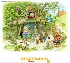 September - I think this picture is so adorable.