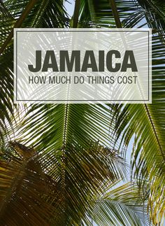 Jamaica does not have to be expensive, get an idea of what things cost so you can budget your next trip to the island of no worries and one love!