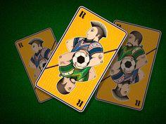 Carte à jouer / Tutoriel réalisé sur Illustrator / © ADNCreative