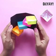 Diy Crafts Hacks, Diy Crafts For Gifts, Diy Arts And Crafts, Fun Crafts, Diy Projects, Kawaii Crafts, Creative Crafts, Paper Crafts Origami, Paper Crafts For Kids