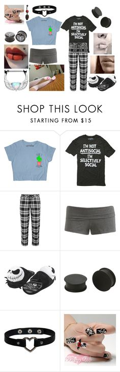 """motionless in white preferences 2!"" by newmotionlessjinxxgamer ❤ liked on Polyvore featuring DKNY, Wet Seal and KAOS"