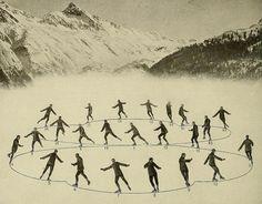 9 Figure Skating Moves From a 1921 Ice Skating Manual   Mental Floss