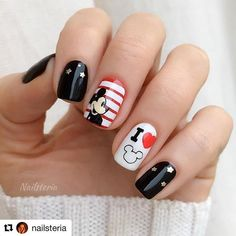 OPI nail polishes 'To the Mouse House We Go! MoYou London stamping plates Pro XL Scholar Tropical Back to 01 and Princess Cute Nails, Pretty Nails, My Nails, Disney World Nails, Disney Princess Nails, Rockabilly Nails, Disneyland Nails, Disney Acrylic Nails, Disney Nail Designs