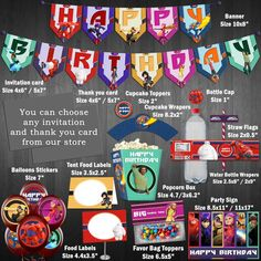 Discount 20%  Big Hero 6 Birthday Party  Midi by FunnyBunnyStore