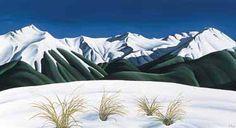 Craigieburn Winter Canvas Print by Diana Adams for Sale - New Zealand Art Prints