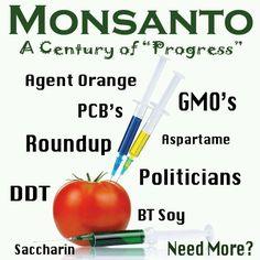 Monsanto poison