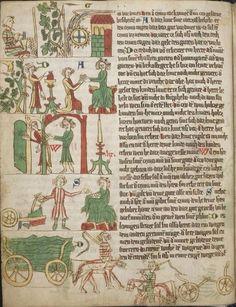 Eike <von Repgow>   Heidelberger Sachsenspiegel — Ostmitteldeutschland, Anfang 14. Jh. Cod. Pal. germ. 164 Folio 9v