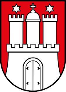 File:Coat of arms of Hamburg.svg