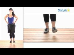 ▶ How to Do a Single Times Step in Tap Dance - YouTube