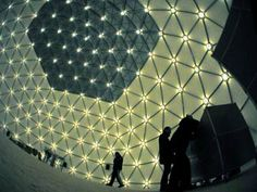 Cupola geodetica. #sport #soccer #LerianSrl