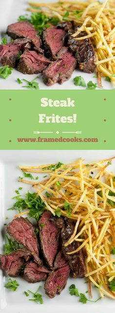 Is there anything more perfect than steak and french fries? Here's my favorite recipe for steak frites!