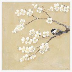 Ashton Wall Décor LLC Birds 'Sweet Birds I' Framed Print of Painting