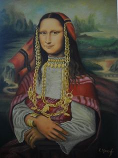 Monna Lisa [Moncef Riahi] (Gioconda / Mona Lisa)
