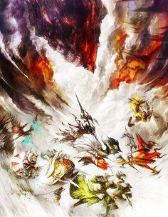 Jobs Illustration from Final Fantasy XIV: A Realm Reborn