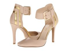 Light Nude + Gold Heels