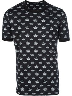 Dolce & Gabbana crown print T-shirt