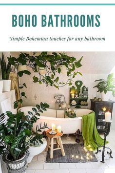 The best thing in Boho style is that there are no rules to follow and you are free to use different patterns, colors and objects. You may bring the free boho spirit easily with some accessories and turn your perfectly white and clear bathroom into a home spa. See some inspirational boho bathroom touches and create your own relaxing zone at home.