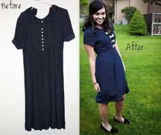 Wow refashioned dresses