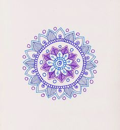 step by step tutorial for making mandalas #mandala