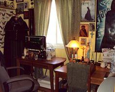 My Severus Snape-inspired office