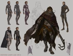 """Dune - Fedaykin Death Commandos"" by Gorrem (Devon Cady-Lee) Character Concept, Character Art, Dune Series, Dune Frank Herbert, Dune Art, Concept Art World, Sci Fi Characters, Animation, Les Oeuvres"
