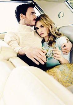Richard Madden & Lily James ♥