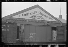 Circleville, OHio 1930 picture of container corporation of America