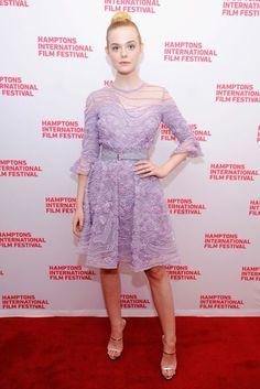 Elle Fanning in Elie Saab   British Vogue