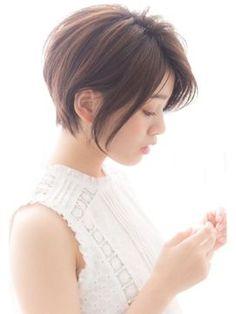 【GARDEN harajuku】高橋 苗 前下がり 小顔ショートボブ - 24時間いつでもWEB予約OK!ヘアスタイル10万点以上掲載!お気に入りの髪型、人気のヘアスタイルを探すならKirei Style[キレイスタイル]で。