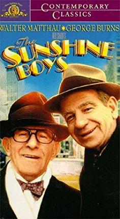 The sunshine boys. With Walter Matthau and George Burns. Ron Rifkin, Walter Matthau, Steve Allen, Phyllis Diller, Jennifer Lee, George Burns, Comedians, Threading