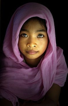 a beautiful girl from Mt. Gulugod, Philippines