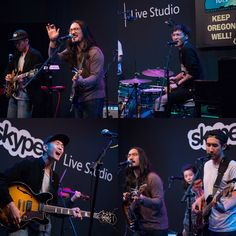 Thanks to everyone who came out for our #KeepOregonWell show with Run River North this week at Kink.fm's Skype Live Studio!  Learn more and join our efforts to #FightStigma now at www.KeepOregonWell.com  #TrilliumRocks #RunRiverNorth #PDXmusic #MentalHealthMatters