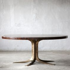 Conference table // Jules Wabbes // Axel Vervoordt