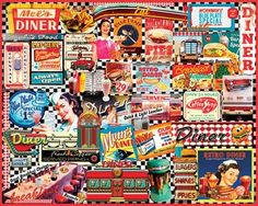 Diners Jigsaw Puzzle - 1000 Pieces