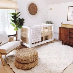 Modern Neutral Boho Nursery Ideas I'm Loving - Oh Happy Joy! Journey of Motherhood