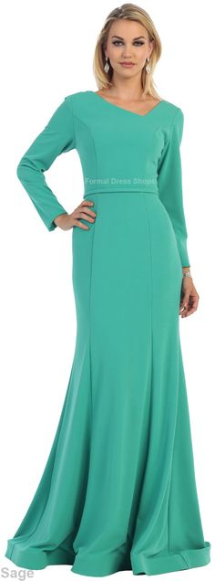 ! SALE ! NEW LONG SLEEVE GOWN SPECIAL OCCASION EVENING FORMAL DRESSES UNDER $100