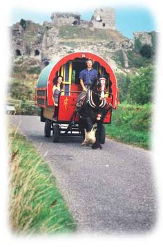 Practicalities of an Irish Horse Drawn caravan holiday