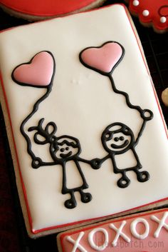 2012 Valentine Cookies. | Flickr - Photo Sharing!  Love it